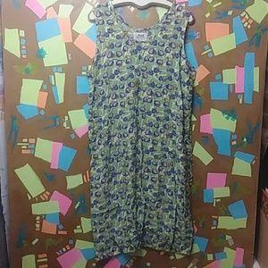 FLAX by Jeanne Engleheart Tank Dress L